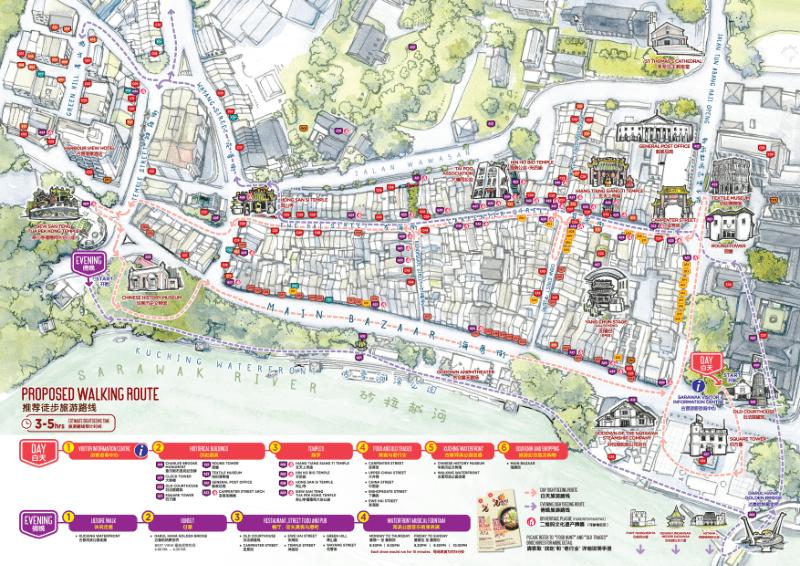 KOB Tourism Map