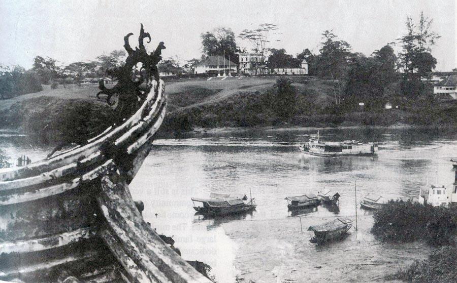 Mouth of Sungai Kuching