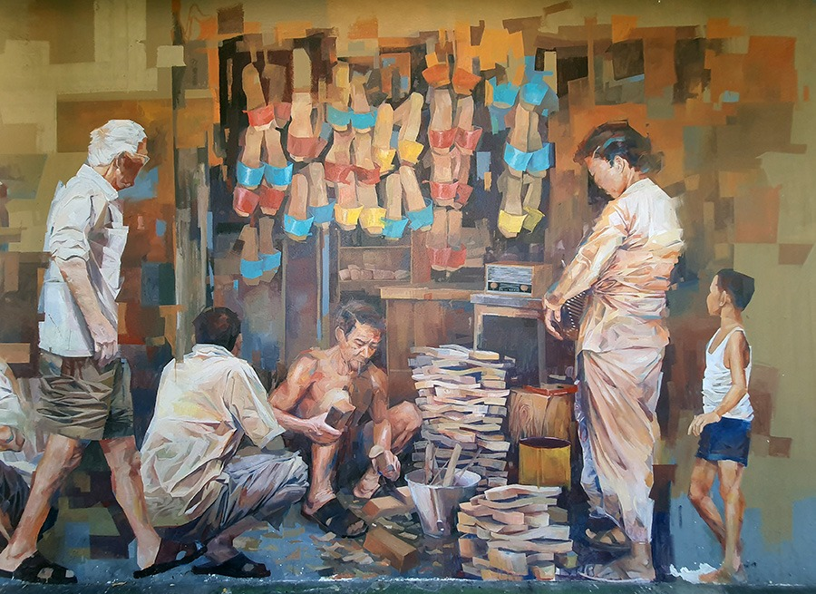 Mural Art – Wooden Clogs Shops
